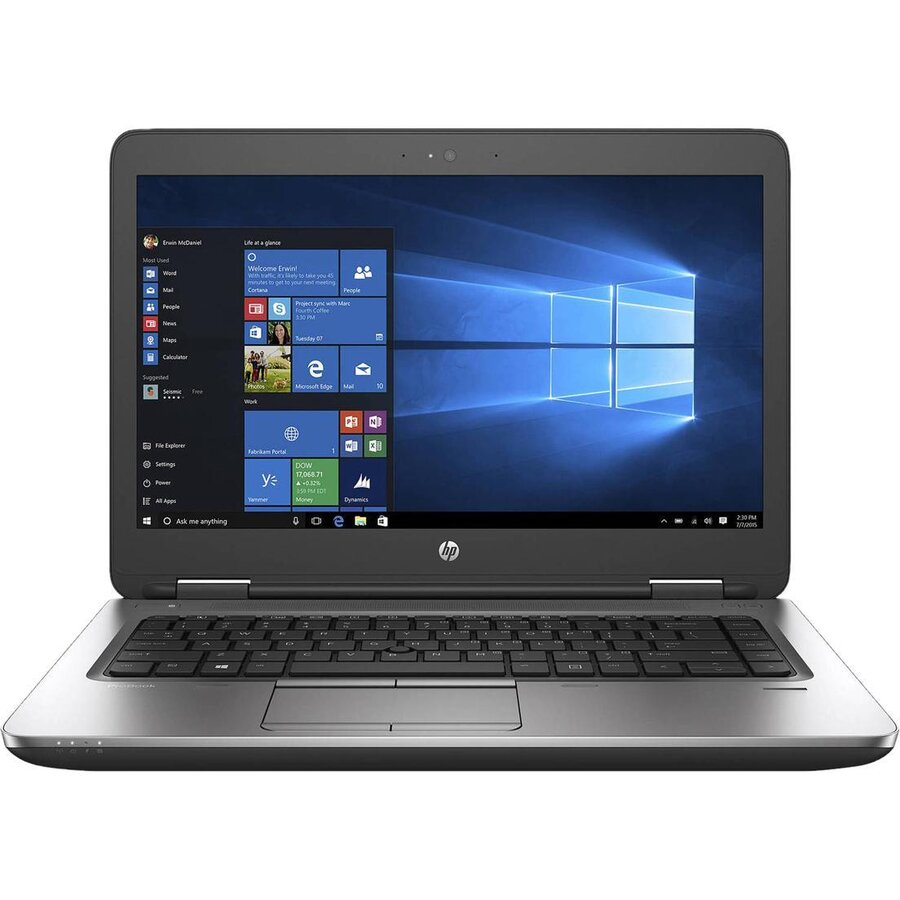 Laptop second hand ProBook 640 G2 Intel Core i5-6200U 2.30GHz up to 3.80GHz 8GB DDR4 256GB SSD  14Inch FHD DVD Webcam