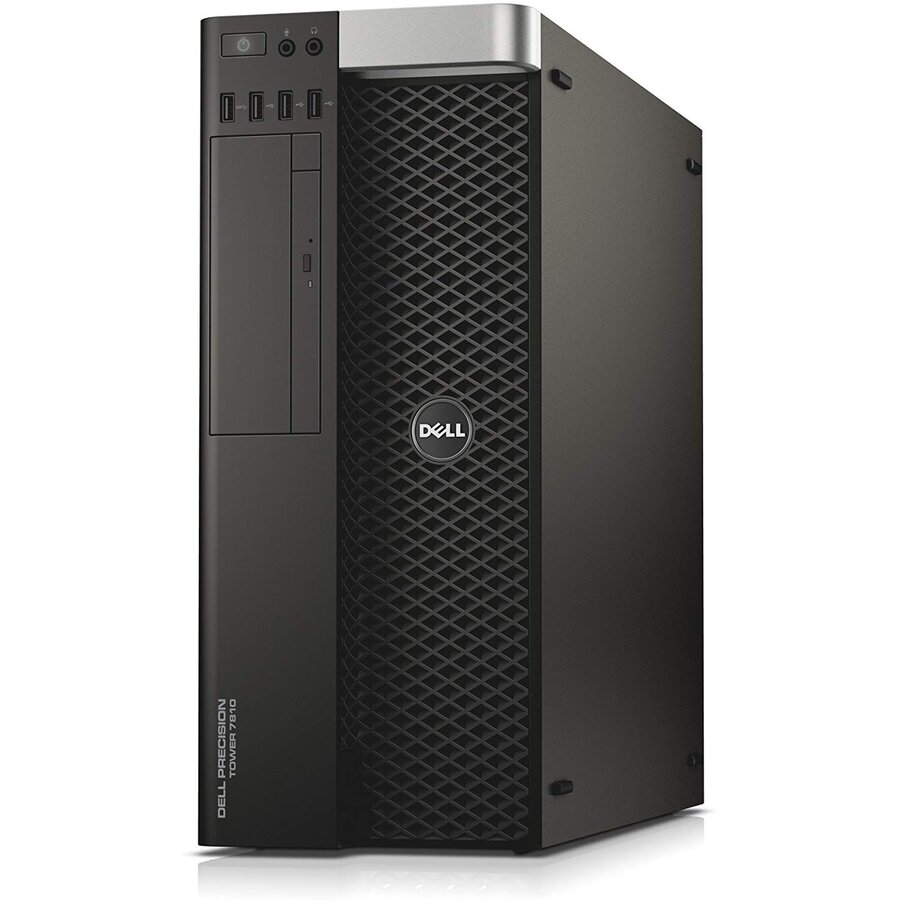 WorkStation second hand Precision T7810 Intel Xeon CPU x 2 E5-2609 V3 1.90GHz 32GB DDR4 500GB HDD Sata  2x nVidia NVS 315 1GB GDDR3 Tower