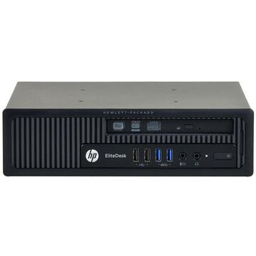 Calculator second hand HP Elitedesk 800 G1 Intel Core i5-4590 3.30GHz up to 3.70GHz 8GB DDR3 240GB SSD DVD Desktop