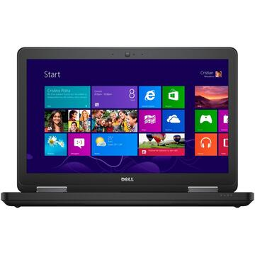 Laptop second hand Dell Latitude E5540 i5-4300U 1.90GHz up to 2.90GHz 4GB DDR3 500GB HDD Sata DVD 15.6inch 1366x768  Webcam