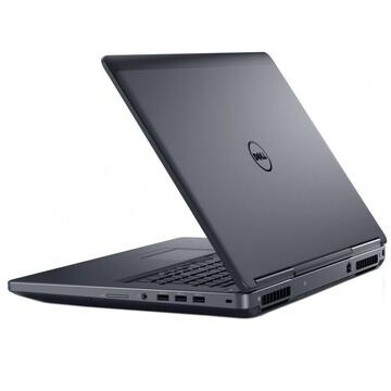 "Laptop second hand Dell Precision 7710 17.3"" FHD, Intel Core i7-6820HQ 2.70 GHz, 16GB DDR4, 256GB SSD + 1TB HDD, nVidia Quadro M3000M, Webcam"