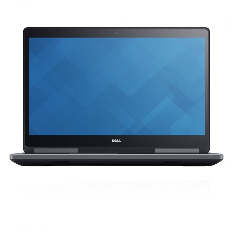 Laptop second hand Precision 7710 Intel Core i7-6920HQ 2.90 GHz up to 3.80GHz 16GB DDR4  256GB SSD nVidia Quadro M3000M 4GB GDDR5 17.3inch FHD Webcam