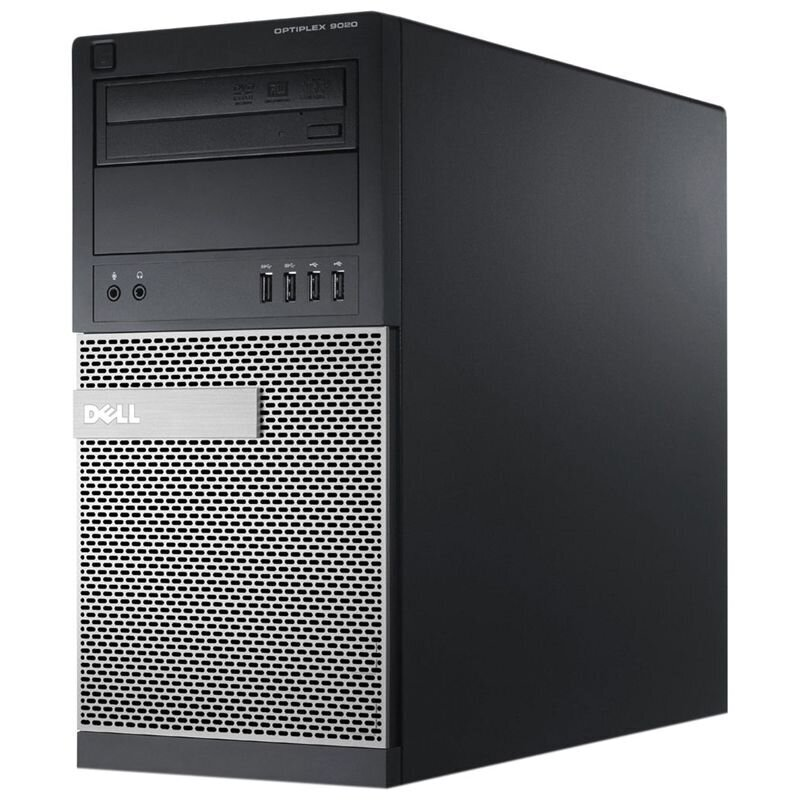 Calculator second hand Optiplex 9020 Intel Core i5-4590 3.30GHz up to 3.70GHz 4GB DDR3 500GB HDD DVD-RW Tower