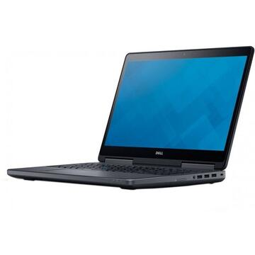 Laptop refurbished Dell Precision 7710 Intel Core i7-6920HQ 2.90 GHz up to 3.80GHz 16GB DDR4 256GB SSD nVidia Quadro M3000M 4GB GDDR5 17.3inch FHD Webcam  SOFT PREINSTALAT WINDOWS 10 HOME