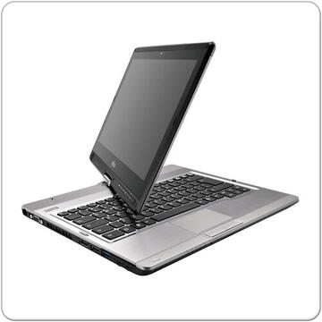Laptop second hand Fujitsu Lifebook T902 Intel Core i5-3340M 2.7GHz up to 3.40GHz 8GB DDR3 128GB SSD,DVD RW, Webcam 13.3inch HD+  Docking Station