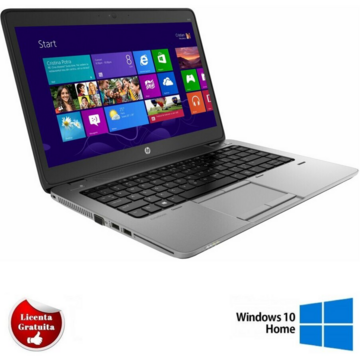 Laptop refurbished HP EliteBook 840 G2 Intel Core i5-5200U 2.20GHz up to 2.70GHz 4GB DDR3 128GB SSD HD+ 14Inch Webcam SOFT PREINSTALAT WINDOWS 10 HOME