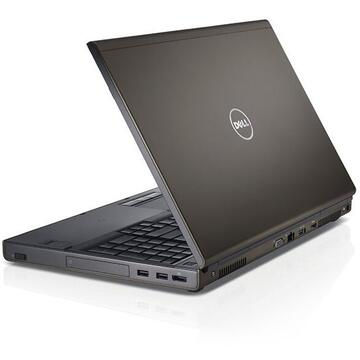 Laptop second hand Dell Precision M4800 Intel Core i7-4700MQ 2.40GHz up to 3.40GHz 8GB DDR3 240GB SSD Quadro K2100M 2GB GDDR5 15.6Inch FHD 1920x1080 DVD