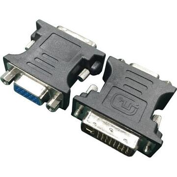 ADAPTOR video GEMBIRD - A-DVI-VGA-BK