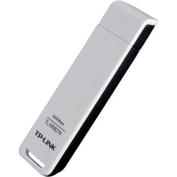 "TP-LINK ADAPTOR RETEA wireless, de la 1 port USB2.0 la 1 antena interna, 300Mbps, 2.4GHz, ""TL-WN821N"""