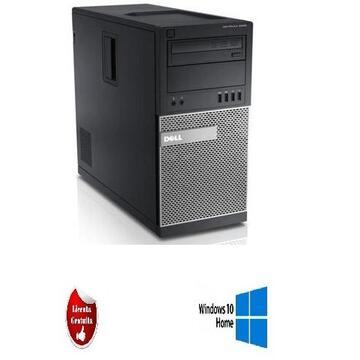 Calculator refurbished Dell OptiPlex 7020 Intel Core i5-4570 3.20GHz, 4GB DDR3, 500GB SATA, DVD-ROM, Tower SOFT PREINSTALAT WINDOWS  10 HOME