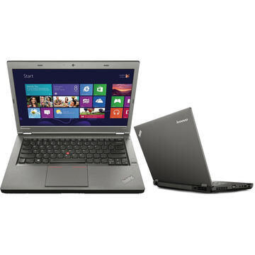 Laptop second hand Lenovo ThinkPad T440p i5-4300M 2.60GHz up to 3.30GHz 8GB HDD 500GB DVD-RW Webcam 14inch