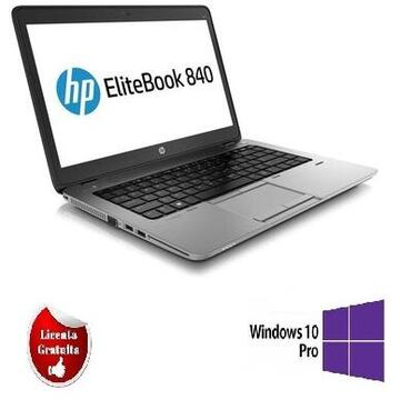 EliteBook 840 G1 Intel Core i5-4300U 1.90GHz up to 2.90GHz 4GB DDR3 180GB SSD Webcam 14 Inch SOFT PREINSTALAT WINDOWS 10 PRO