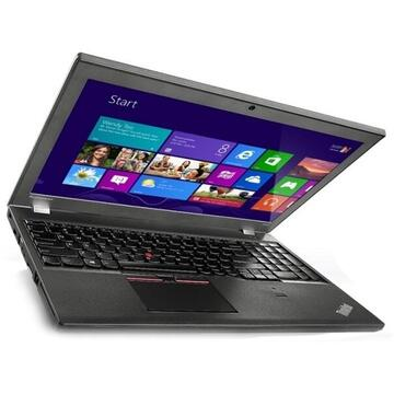 Laptop refurbished Lenovo ThinkPad T550 Intel Core i5-5200U 2.20GHz up to 2.70GHz 8GB DDR3 240GB SSD 15.6Inch HD Webcam SOFT PREINSTALAT WINDOWS 10 PRO