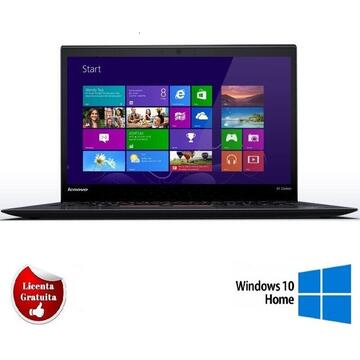X1 Carbon I7-3667u 2 GHz up to 3.2 GHz, 8Gb DDR3 128GB SSD 14 inch HD Webcam SOFT PREINSTALAT WINDOWS 10 HOME