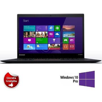 X1 Carbon I7-3667u 2 GHz up to 3.2 GHz, 8Gb DDR3 128GB SSD 14 inch HD Webcam SOFT PREINSTALAT WINDOWS 10 PRO