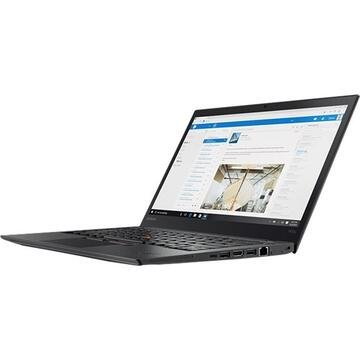 Laptop second hand Lenovo ThinkPad T470s Intel Core i7-7600 2.80 GHz up to 3.90 GHz 24GB DDR4 512GB SSD 14inch FHD Webcam 2 Baterii