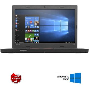 Laptop refurbished Lenovo ThinkPad L460 Intel Core i5 -6300U 2.40GHz up to 3.00GHz 8GB DDR3 128GB SSD 14inch HD Webcam Soft Preinstalat Windows 10 Home