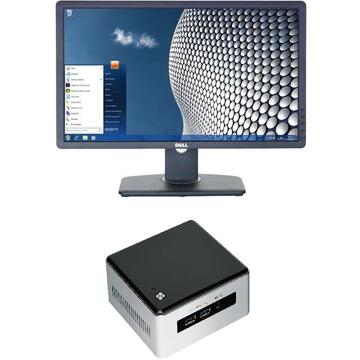 Sistem All In One - Dell 23'' U2312H Intel NUC Core i5-5300U 2,3Ghz, 8GB, 128GB SSD, 2x mini-display connection USB 3.0