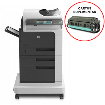 Multifunctionala second hand LaserJet Enterprise M4555 MFP, Cartus Suplimentar