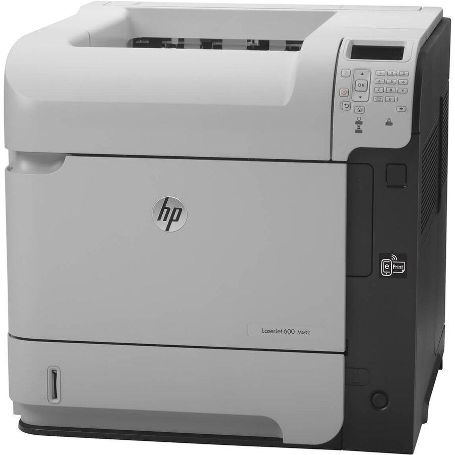 Imprimanta second hand HP LaserJet Enterprise 600 M602dn, Duplex Si Retea