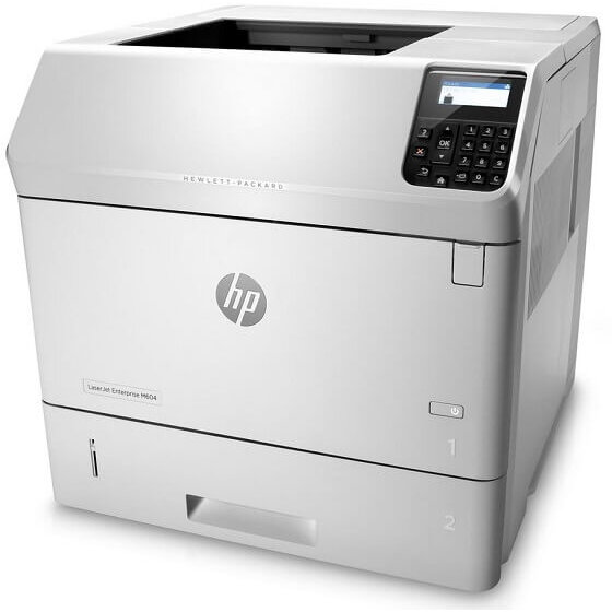 Imprimanta second hand HP Enterprise M604n, 52ppm, 1200x1200dpi