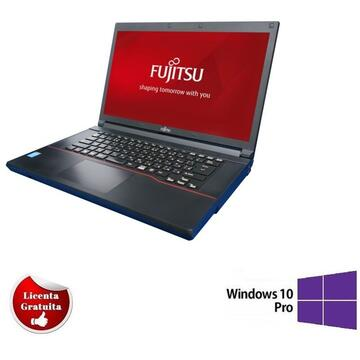 "Laptop refurbished Fujitsu A574 i5-4200 4GB DDR3 320GB DVD 15,6"" Soft Preinstalat Windows 10 Professional"