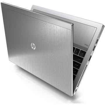 Laptop second hand HP Elitebook 2560p Intel Core i5-2520M 2.50GHz up to 3.20GHz 4GB DDR3 500GB HDD 12inch 1366x768 DVD Webcam Baterie Noua