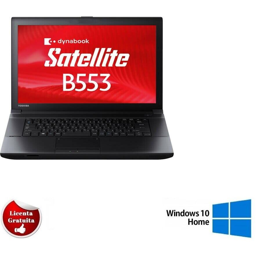 Laptop second hand B553 i5-3320 8GB DDR3 128GB SSD DVD 15.6 Soft Preinstalat Windows 10 Home