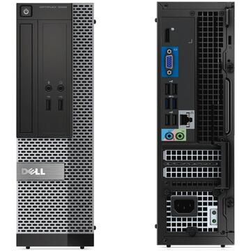 Calculator second hand Optiplex 3020 Intel Core i5-4570 3.20GHz up to 3.60GHz 4GB DDR3 500GB HDD SFF   Monitor  Dell P2211HT LED 22 inch Full HD + CADOU Camera Web USB 720P