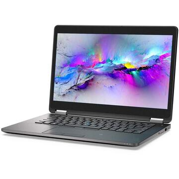 Latitude E7470 Intel Core i5-6300U 2.50GHz up to 3.00GHz 8GB DDR4 256GB SSD 14inch FHD 1920x1080 Webcam
