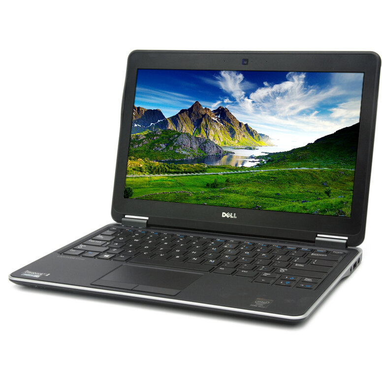 Laptop second hand Latitude E7240 Intel Core i5-4310U 2.60GHz up to 3.10GHz 4GB DDR3 128GB SSD 12.5 inch HD 1366X768 Webcam