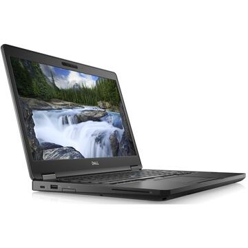 Laptop second hand Dell Latitude 14 5490 Intel Core i5 - 7300U 8GB DDR4 512GB PCIe M.2 NVMe 14inch FHD IPS Webcam Windows 10 PRO US Iluminata