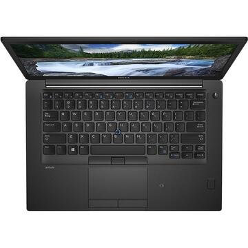 Laptop second hand Dell Latitude  7490 Intel Core i5-8350U  1.70GHz up to 3.60GHz  16GB DDR4 1TB PCIe M.2 NVMe 14inch HD UK iluminata  WebCam Windows 10 PRO