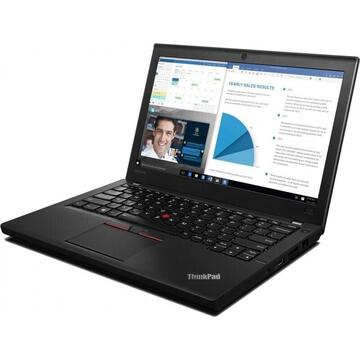 Laptop refurbished Lenovo Thinkpad X260 Intel i5-6300U 2.40GHz up to 3.00GHz 8GB DDR4 256GB SSD 12.5inch 1366x768 Webcam 2 Baterii Soft Preinstalat Windows 10 Professional