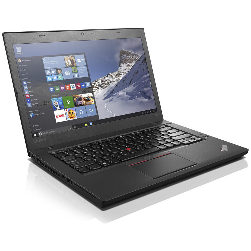 Laptop second hand ThinkPad T460s Intel Core i5 -6300U 2.40GHz up to 3.00GHz 20GB DDR4 256GB SSD 14inch 1920x1080 Webcam