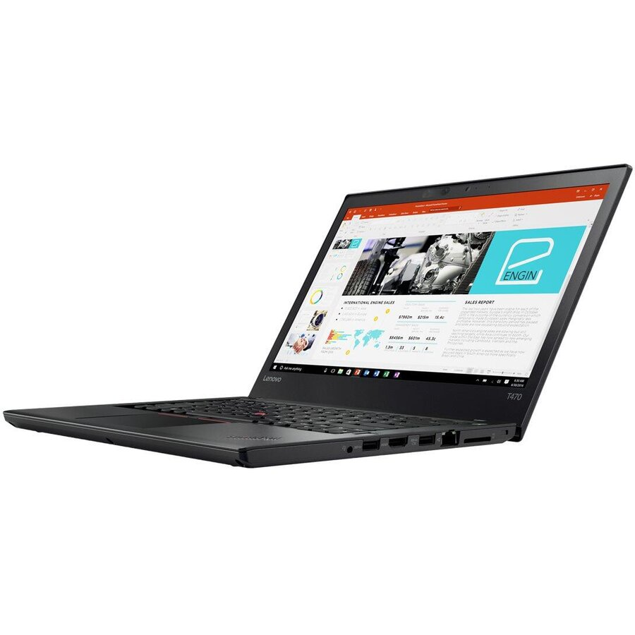 Laptop second hand THINKPAD T470 Intel Core i5-7300U 2.60GHz up to 3.50GHz 8GB DDR4 240GB SSD 14inch FHD Webcam