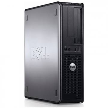 Calculator second hand Dell OptiPlex 760 Core 2 Duo E8400 3.0GHz 2GB DDR2 160GB HDD Sata DVD SFF Desktop