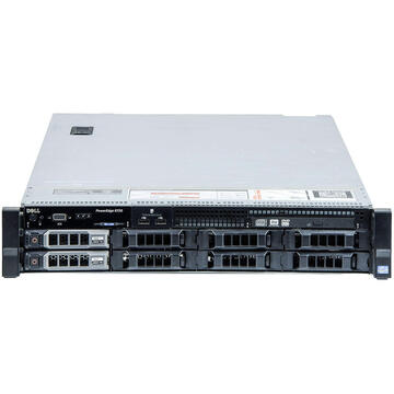 Server second hand Dell PowerEdge R720 2 x Deca Core Xeon E5-2660 v2 2.2GHz - 2.9GHz 32GB DDR3 ECC 8x3.5 HDD BAY 4x3TB HDD RAID Perc H710 2x750W PSU