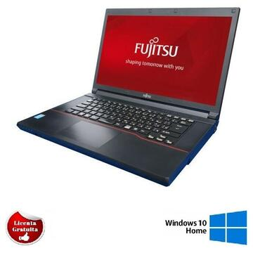 Laptop refurbished Fujitsu Siemens E742 Intel Core i5-3320M 2.60Ghz up to 3.30Ghz 4GB DDR3 500GB HDD DVD 15.6 inch Full HD HDMI USB 3.0, Soft Preinstalat Windows 10 Home