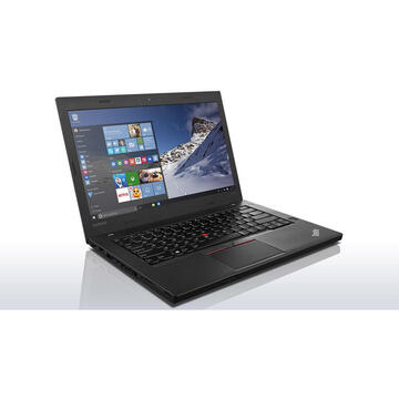 Laptop cu Office Lenovo THINKPAD T460 Intel Core i5-6300U 2.40GHz up to 3.00GHz 8GB DDR3 240GB SSD 14inch Webcam FHD, Soft Preinstalat Windows 10 Home, Microsoft Office 365