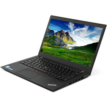 ThinkPad T460s Intel Core i7 -6600U 2.60GHz up to 3.40GHz 8GB DDR4 256GB SSD 14inch 1920x1080 Webcam