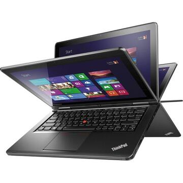 Laptop second hand Lenovo ThinkPad Yoga Intel Core i5-4300U 1.90GHz up to 2.90GHz 8GB DDR3 128GB SSD 12.5 inch HD Touchscreen Webcam