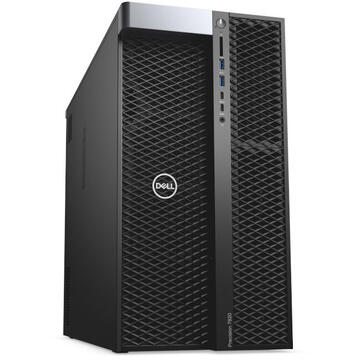 WorkStation second hand Dell Precision Tower 7920 2 x Intel Xeon Gold 6148 20 Core 2.40GHz up to 3.70GHz 256GB DDR4 1TB SSD + 2 x 3TB HDD Nvidia quadro P5000 16GB