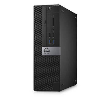 Calculator refurbished Dell Optiplex 3040 Intel core i3-6100 2.7GHz 8GB DDR3 500GB HDD SFF Soft Preinstalat Windows 10 Home