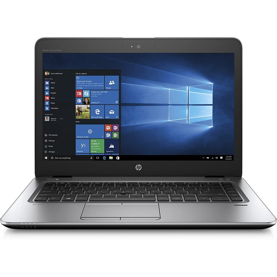 Laptop second hand EliteBook 840 G4 Intel Core I5-7200U 2.5 GHz up to 3.1 GHz 8GB DDR4 256GB nVme SSD 14inch FHD TouchScreen Webcam