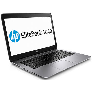 EliteBook Folio 1040 G2 Intel Core i7-5600U 2.6GHz up to 3.2GHz 8GB DDR3 256GB m.2 SSD 14inch FHD Webcam