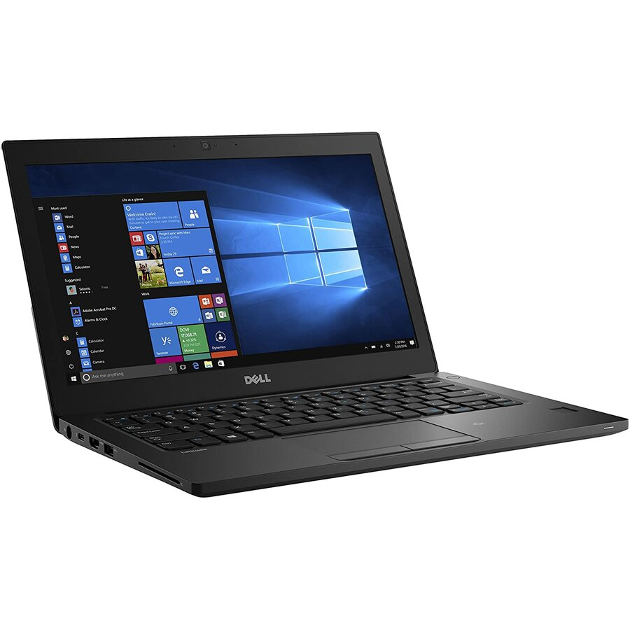 Laptop second hand Latitude 7280 Intel Core I5-7300U 2.6GHz up to 3.5GHz 8GB DDR4 256GB SSD 12.5inch HD Webcam