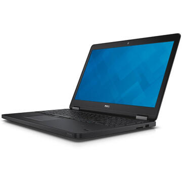 Laptop second hand Dell Latitude E5550 Intel Core i7-6500 2.6GHz up to 3.1GHz 16GB DDR3 256GB SSD 15.6inch FHD Webcam