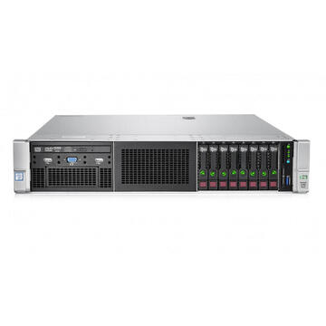 Server second hand HP G9 DL380  2 x CPU Intel Xeon E5-2670v3 12 Core 64GB DDR4 ECC, 2x3TB HDD, 2x800w, P840 4GB raid controler