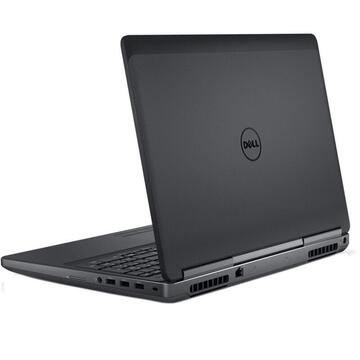 Laptop second hand Dell Precision 7710 Intel Core i7-6920HQ 2.90 GHz up to 3.80GHz 16GB DDR4 256GB NVMe SSD nVidia Quadro M3000M 4GB GDDR5 17.3inch FHD Webcam